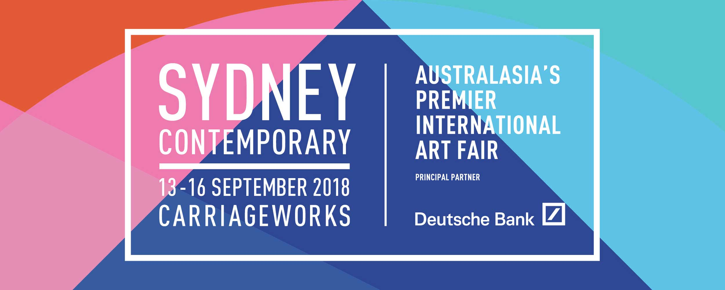Sydney Contemporary 2018 Banner