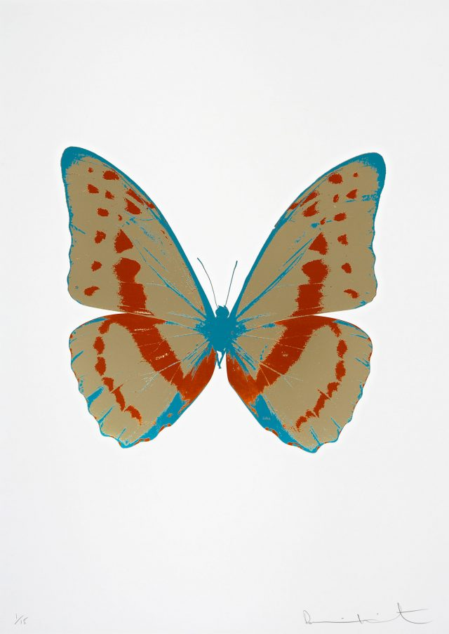 Damien Hirst, The Souls III - Cool Gold/Prairie Copper/Topaz