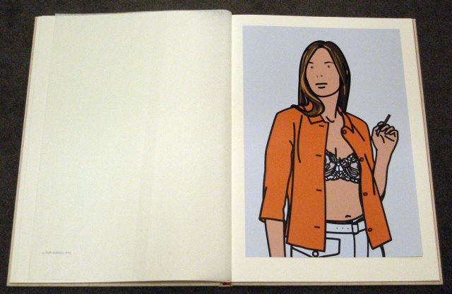 Julian Opie, Twenty Six Portraits (2006)