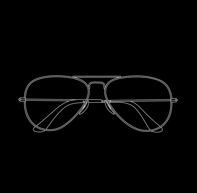 Michael Craig-Martin, Glasses (2017)