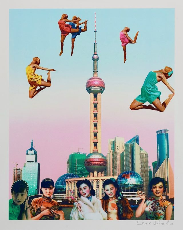 Peter Blake, Dancing Over Shanghai (2013)