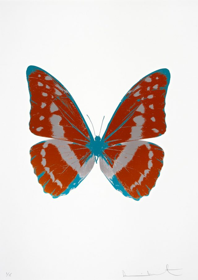 Damien Hirst, The Souls III - Prairie Copper : Silver Gloss : Topaz (2010)